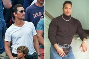 "2014 on Matthew McConaughey, and ""The Rock"" in the 1990s sporting fanny packs.  I will soon be on their exclusive club."