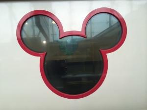 disney metro line window