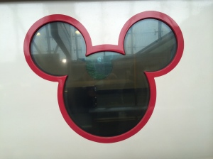disney metro line window